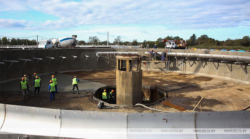 Обновленные очистные сооружения Бреста сдадут в эксплуатацию в апреле