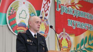 Заместитель начальника УВД Витебского облисполкома Сергей Завадский