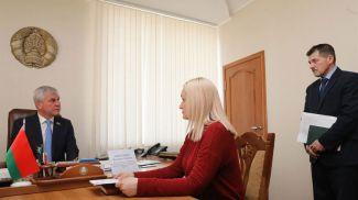 На приеме Вера Медведева