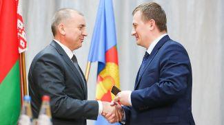 Владимир Юргевич и Александр Турчин. Фото Миноблисполкома