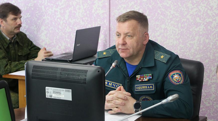 Александр Худолеев. Фото Гомельского областного управления МЧС