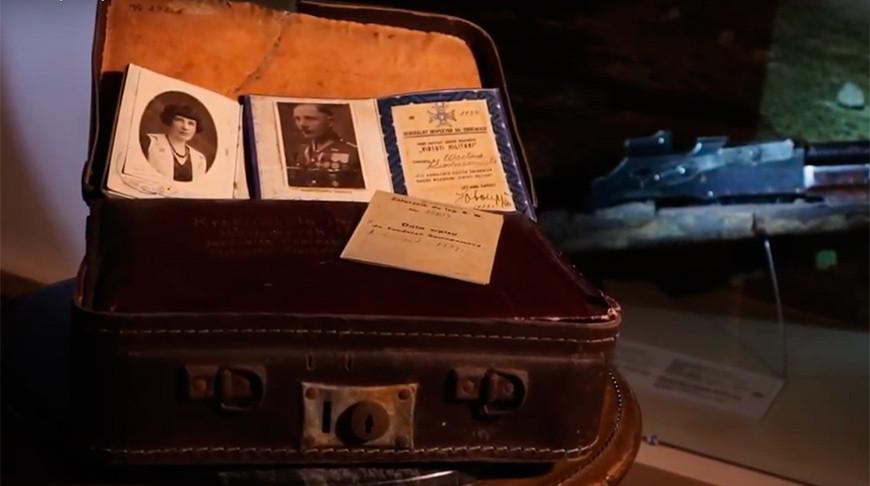 """Скриншот из видео """"Офицерский тайник"""" Музея обороны Брестской крепости"""
