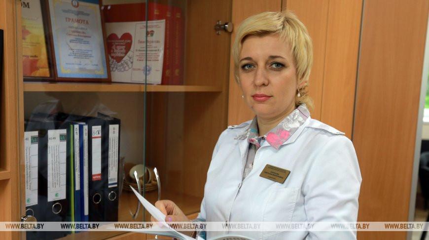 Главный врач Могилевской поликлиники №3 Светлана Шупикова