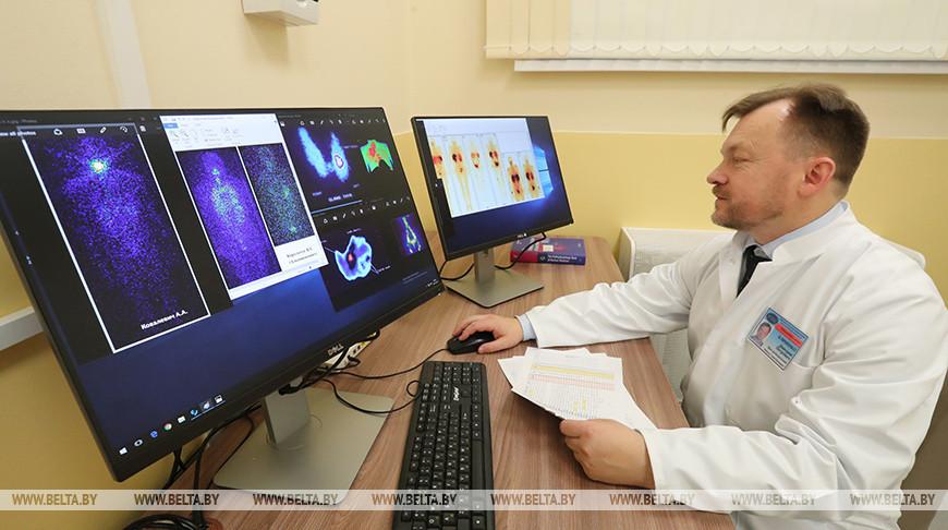 В Минском городском клиническом онкологическом диспансере. Фото из архива
