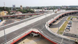 Полоцкий путепровод над железнодорожными путями