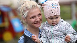 Божена Рысюк и ее дочь Анна