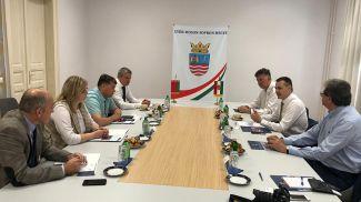 Во время встречи. Фото посольства Беларуси в Венгрии