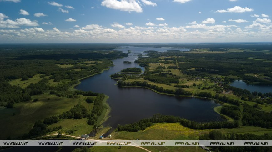 ФОТОФАКТ: Озеро Долгое в Браславском районе