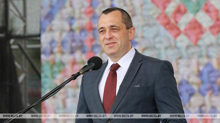 Александр Субботин во время церемонии награждения