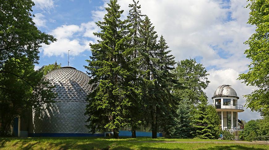 55 лет сегодня исполняется Минскому планетарию.