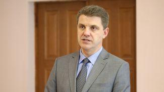 Владимир Кухарев во время встречи