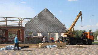 Строительство объектов музея. Фото из архива