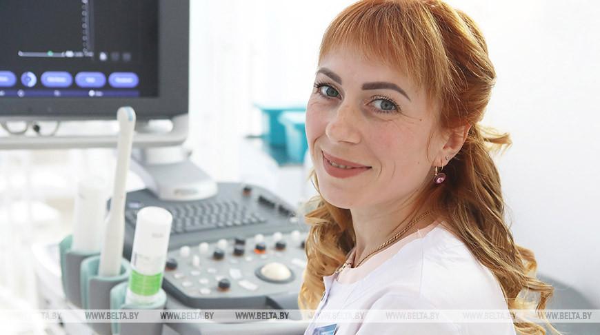 Врач-рентгенолог Ольга Борисенко