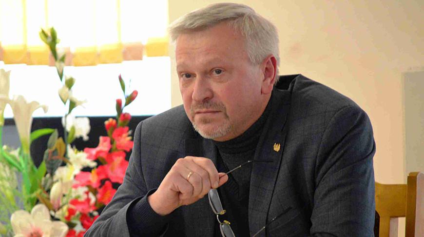 Владимир Ясев. Фото Могилевского государственного университета имени А.А.Кулешова