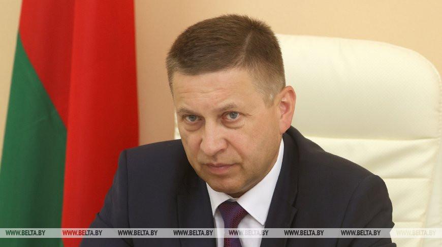 Иван Лавринович во время прямой линии