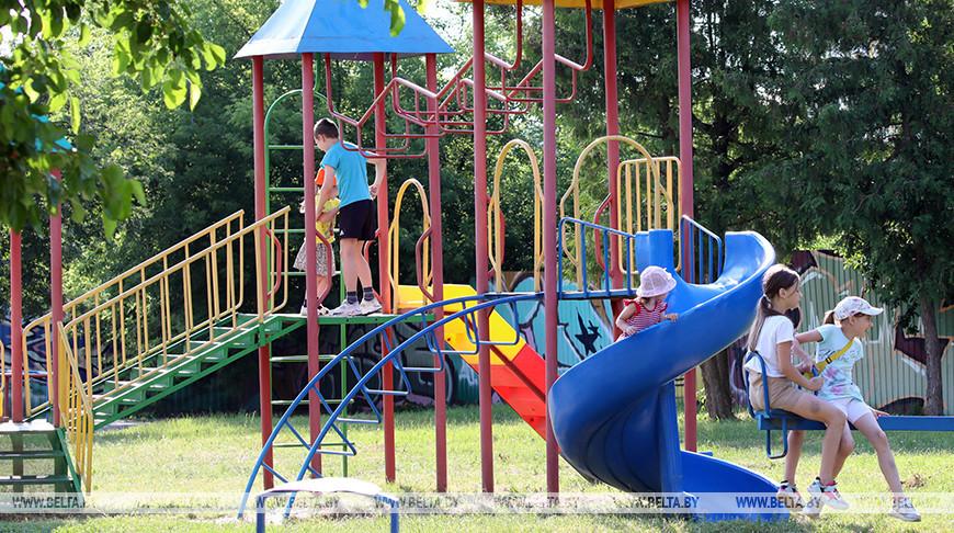 Детский парк в Пинске планируют обустроить в скандинавском стиле