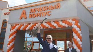 Главный врач Островецкой ЦРБ Владимир Можейко