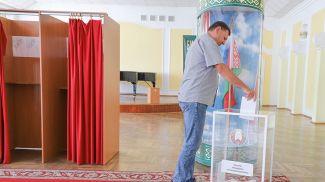 На избирательном участке Бреста