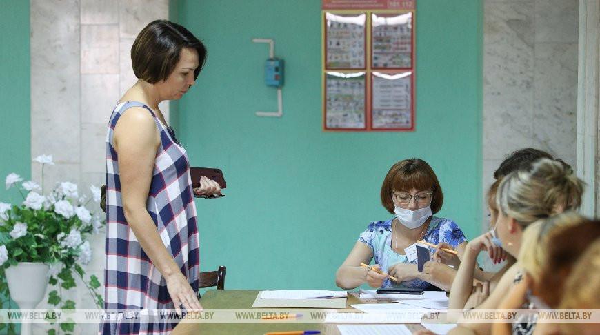 В Брестской области проголосовали более 75% избирателей