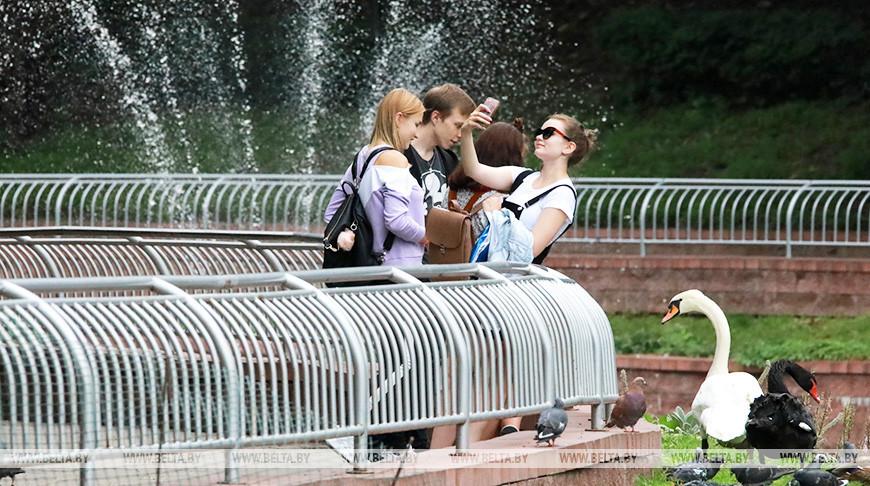В парке Гомеля. Фото из архива