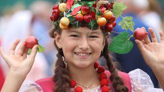 Участница экофеста Анастасия Шокель из Миор