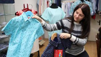 Образцы моделей школьной одежды. Фото из архива