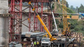 Реконструкция моста. Фото из архива