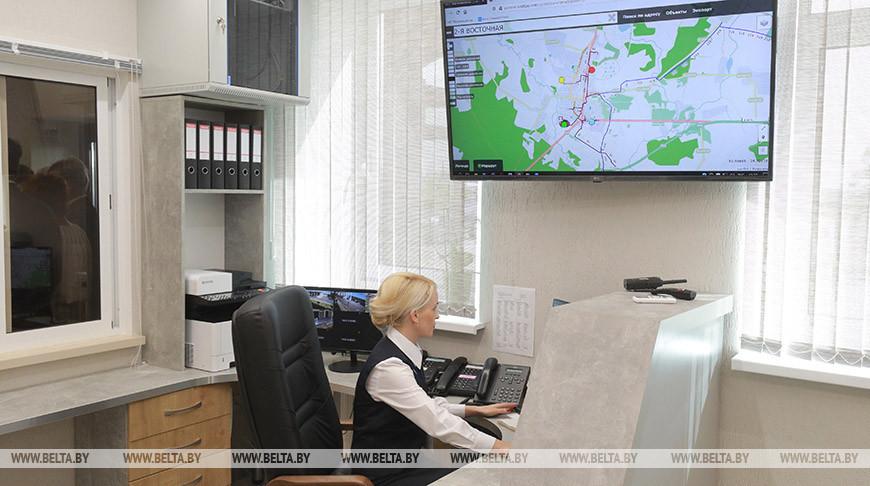 Станция газоснабжения в Белыничах