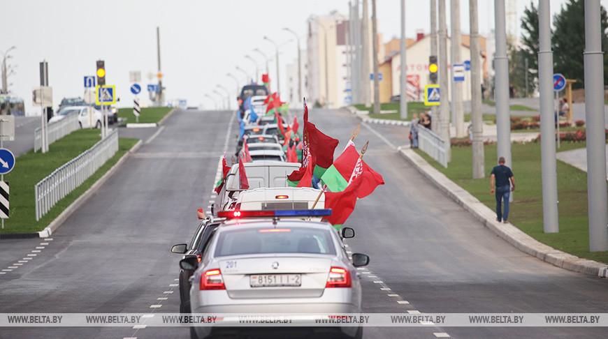 Новую автодорогу открыли в Витебске