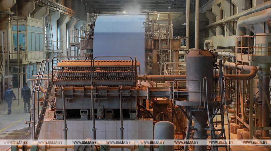 Производство бумаги-основы в Шклове планируют начать к концу сентября