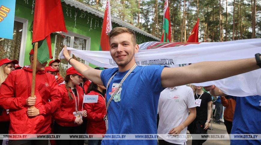 ФОТОФАКТ: Областной молодежный турслет стартовал под Гродно