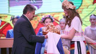 Геннадий Соловей во время праздника