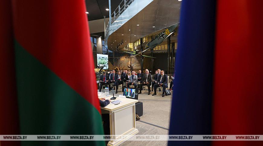 Стартовали мероприятия VII Форума регионов Беларуси и России