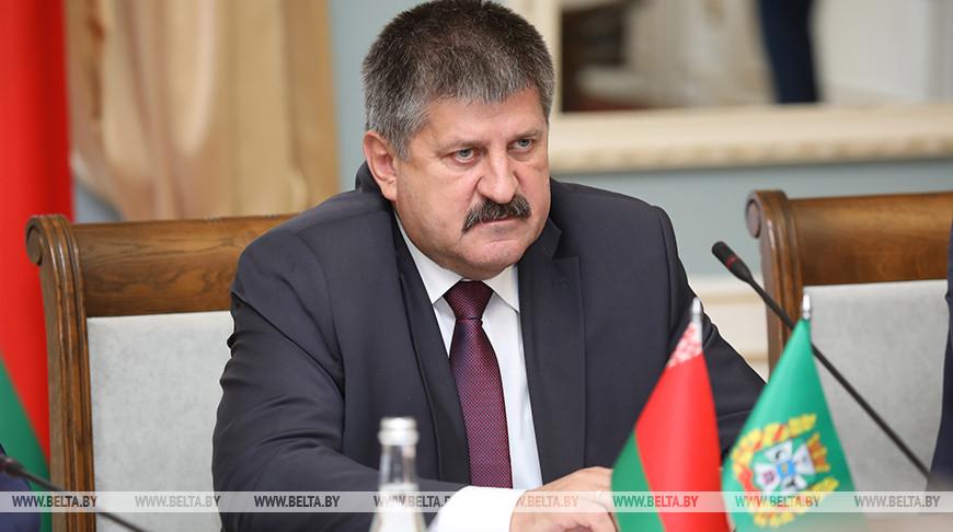 Геннадий Соловей во время встречи