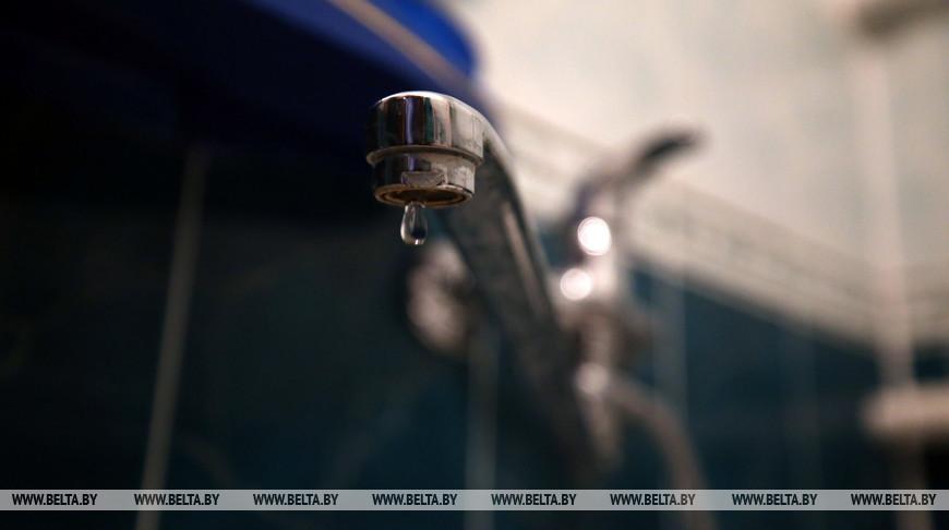 Во Фрунзенском районе Минска из-за повреждения водопровода снизилось давление воды