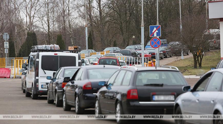 С 4 ноября в пункте пропуска «Бенякони» меняется схема движения транспортных средств.