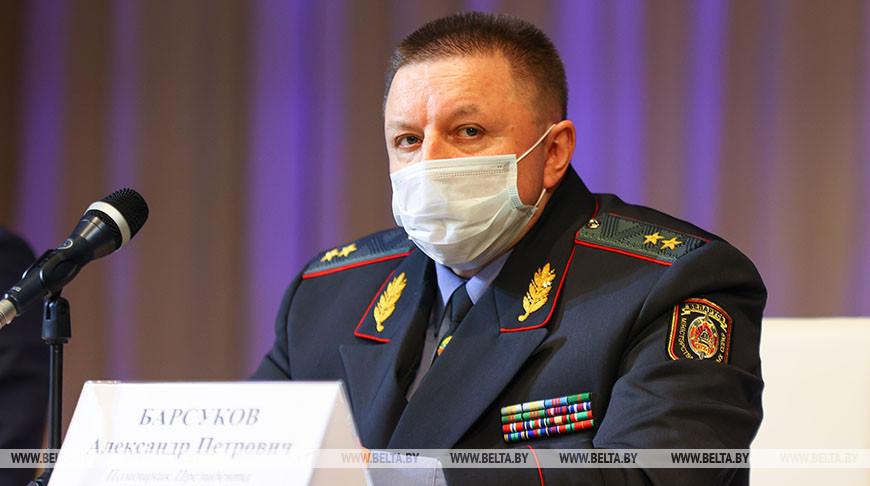 Александр Барсуков во время заседания