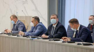 Во время внеочередной сессии горсовета депутатов