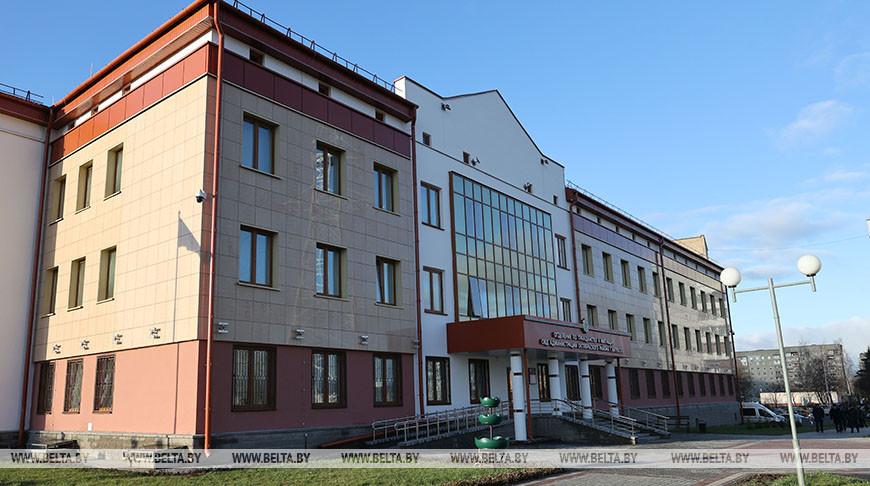 Новое здание Октябрьского РОВД
