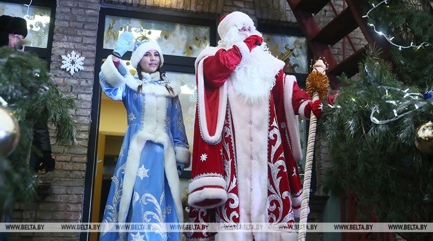В поместье Деда Мороза