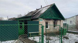 Место происшествия. Фото Витебского областного управления МЧС