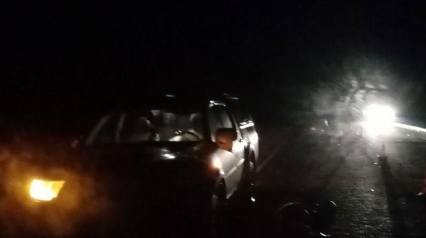 На месте происшествия. Фото ГАИ УВД Витебского облисполкома