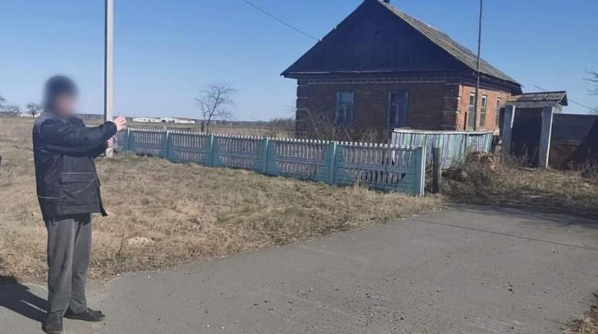 Проверка показаний обвиняемого на месте происшествия. Фото УСК по Гомельской области