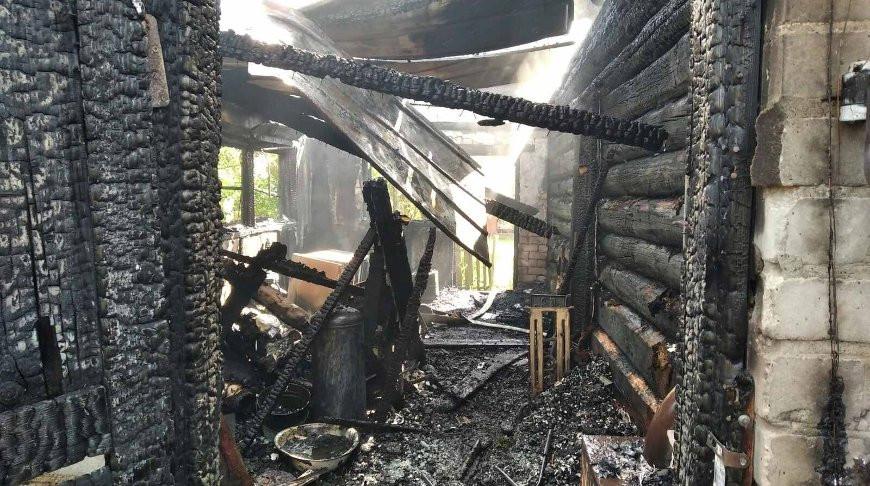 В Белыничском районе при пожаре в частном доме погиб пенсионер.
