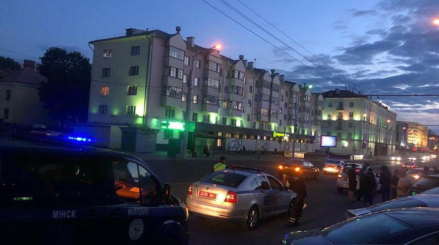 В ДТП на Кальварийской в Минске пострадал пешеход