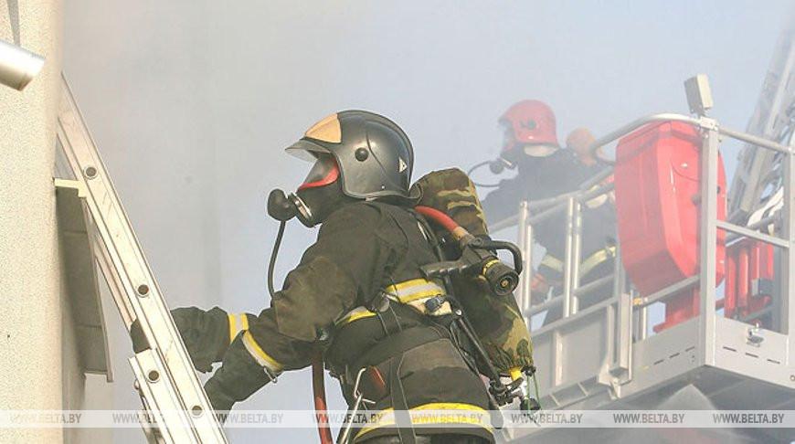 В торговом центре Евроопт на Варшавке вчера случился пожар. Так что же там произошло?