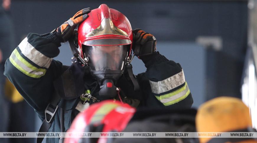 В Березе на пожаре в своем доме погиб пенсионер