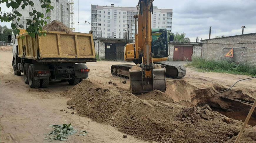 Боеприпас нашли возле строящейся многоэтажки в Барановичах