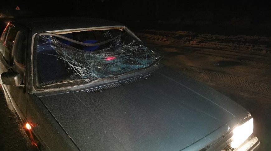 В Могилеве под колеса машины попал пьяный велосипедист
