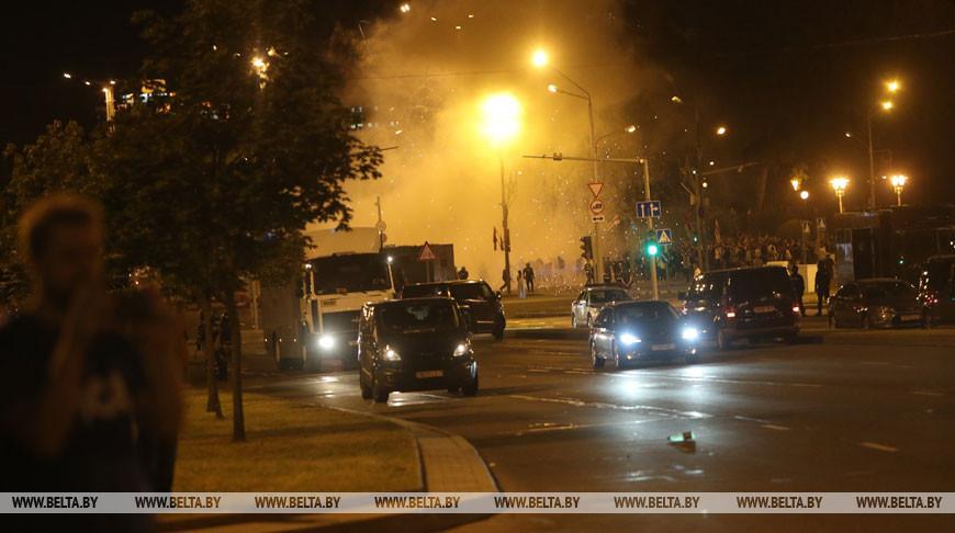 Координаторов массовых беспорядков задержали в Минске